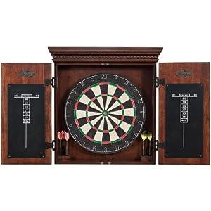 Buy American Heritage Athos Dart Board Cabinet Set by American Heritage Billiards