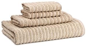 Cambridge Towel Super Dry 4-Piece Towel Set, Linen