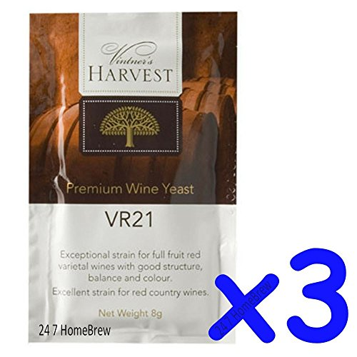 3x-vintners-harvest-wine-yeast-vr21-8g-treats-23l-full-fruit-country-reds