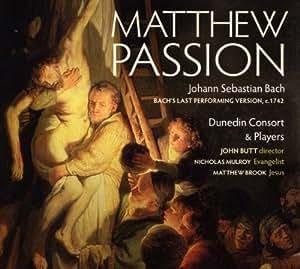 Matthäus-Passion (1742) (Ga)