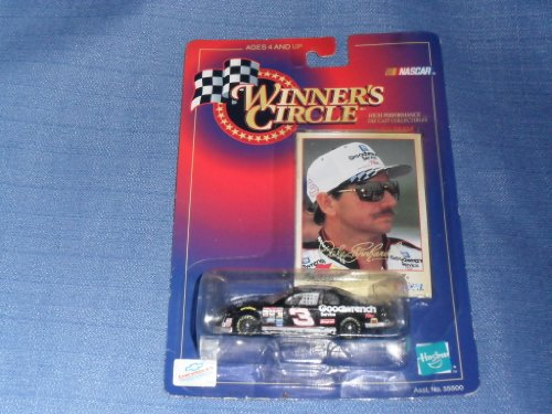 1998 NASCAR Winner's Circle . . . Dale Earnhardt #3 GM Goodwrench Plus Chevy Monte Carlo 1/64 Diecast . . . Daytona 500 Collector's Card - 1