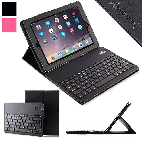 iPad-AiriPad-Pro-97-Keyboard-Leather-Case-Alpatronix-KX130-Bluetooth-iPad-Air-iPad-Pro-97-Keyboard-Case-for-iPad-Air-12-iPad-Pro-97-inch-with-Removable-Wireless-Keyboard-Built-in-Tablet-Stand-for-all-