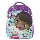 Disney Doc McStuffins Backpack Kids Sport School Hugs Travel Back Pack