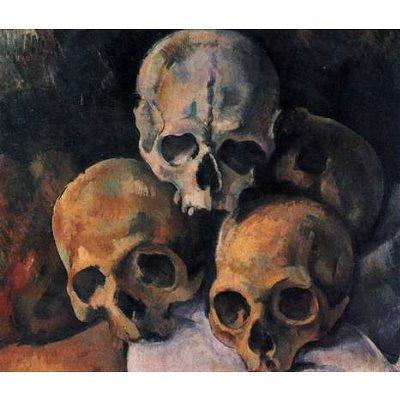 Paul Cezanne (Still lifes, skull pyramid) Art Poster Print - 11x17
