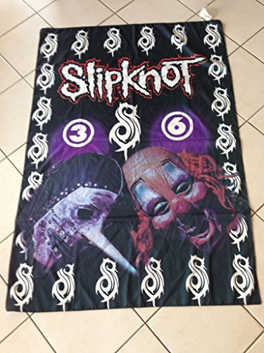 Slipknot bandiera-tessuto, 135 x 94 cm