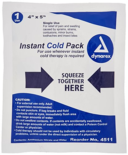 Instant Cold Compress, Bulk 4