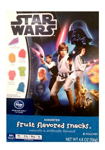 Star Wars Fruit Snacks - 2 Boxes