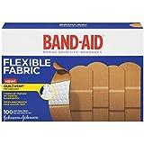 Johnson & Johnson Flexible Fabric Adhesive Bandages, 1 x 3, 100 per Box