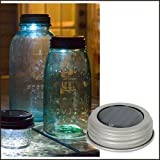 "Solar Lid Light ""Silver"""