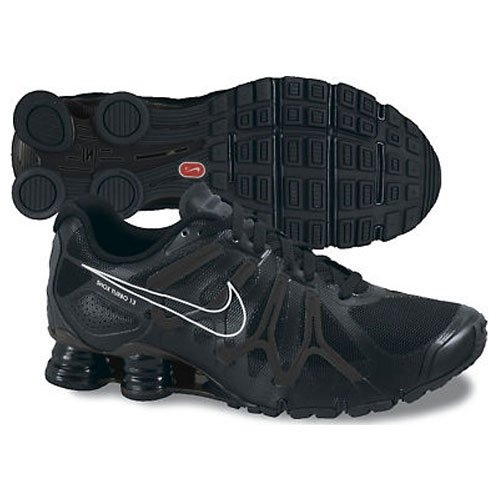 Amazon.com: Nike Men\u0026#39;s Shox Turbo\\+ 13 Running Shoe,Black/Anthracite/Metallic Silver,7 D US: Shoes