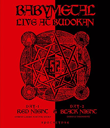 LIVE AT BUDOKAN~ RED NIGHT & BLACK NIG...