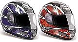 HJC CS12 LOTUS MOTORCYCLE MOTORBIKE CRASH HELMET LID FULL FACE RACING SALE J&S (EXTRAL LARGE XL 62 CMS, LOTUS RED)