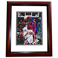Andre Drummond Autographed  Hand Signed Detroit Pistons 8x10 Photo - MAHOGANY CUSTOM... by Real Deal Memorabilia