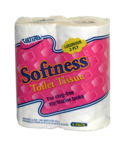 Valterra Q23630 Softness 2-Ply Toilet Tissue, (Pack of 4)
