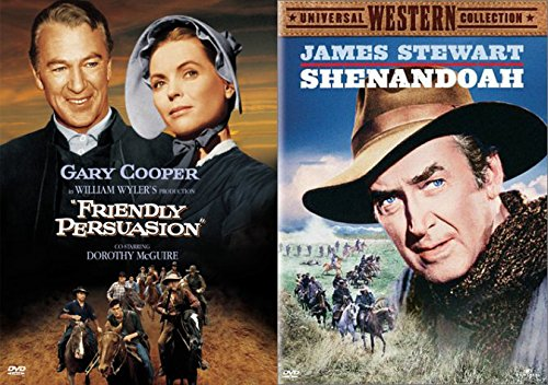 Shenandoah & Friendly Persuasion Dvd The West Set James Stewart + Gary Cooper