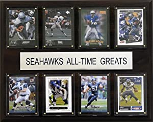 NFL Seattle Seahawks All-Time Greats Plaque by C&I Collectables