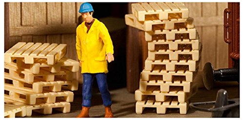 HO Scale Pallets -- Kit pkg(12)