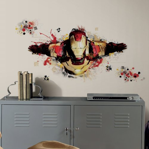 Iron Man 3 Wall Decals Mega Pack