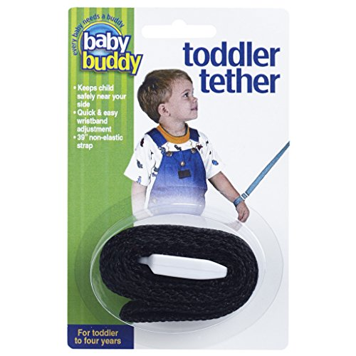 Best Review Of Baby Buddy Toddler Harness with Tether Leash Safety Strap, Black