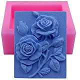 Silicone Mold, Craft Art Silicone Soap Mold Craft Molds DIY Handmade Soap Molds YN10 - Soap Making Supplies by YSCEN (Color: 10)