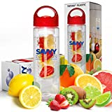 Savvy Infusion Water Bottle - 24 Oz