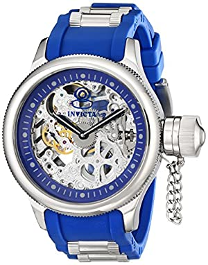 Invicta Men's 1089 Russian Diver Skeleton Watch