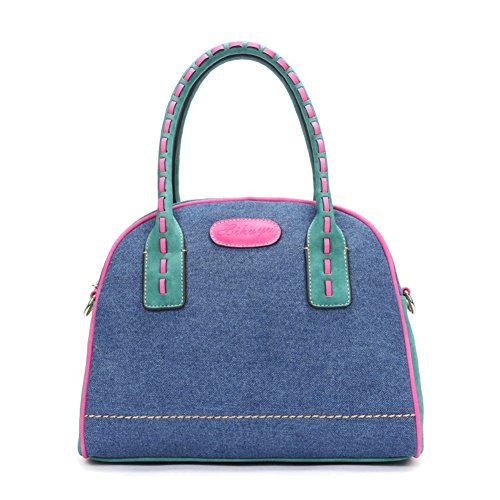 Walcy Explosion Models Denim Sweet Lady Women's Handbag,Shell Type Dumplings HB880054C1 (Excel Vaporizers compare prices)