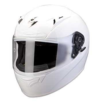 Scorpion eXO - 2000 eVO sOLID casque intégral aIR-blanc nacré