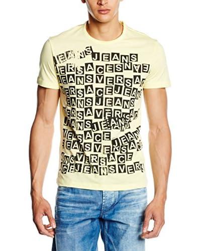 Versace Jeans T-Shirt Manica Corta [Giallo Chiaro]