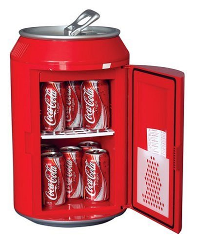 Koolatron CC10G Coca-Cola Can-Shaped 8-Can-Capacity 