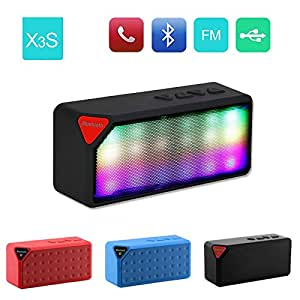 Videocon Dost V1615 Compatible and Certified Colourful Big-X3 Speakers with Bluetooth, FM, Calling, USB, Memory Card, AUX In, Card Reader Function ( Get Mobile Charging Cable worth Rs 239 FREE & 180 days Replacement Warranty )