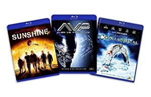 Blu-ray Sci-Fi Bundle, Vol. 2 (Stargate Continuum / Sunshine / Aliens vs. Predator) - (Amazon.com Exclusive)