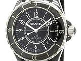 [シャネル]CHANEL【CHANEL】シャネル J12 セラミック ラバー 自動巻き メンズ 時計H0684(BF110404)[中古]