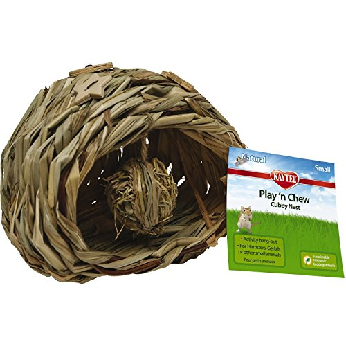 Small, Handmade of Natural Woven Sisal Chew Cubby Nest