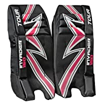 Tour Hockey Invader 150 Goalie Pads, 27-Inch