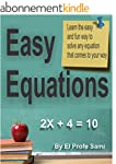 Linear Equations: Learn how to solve...