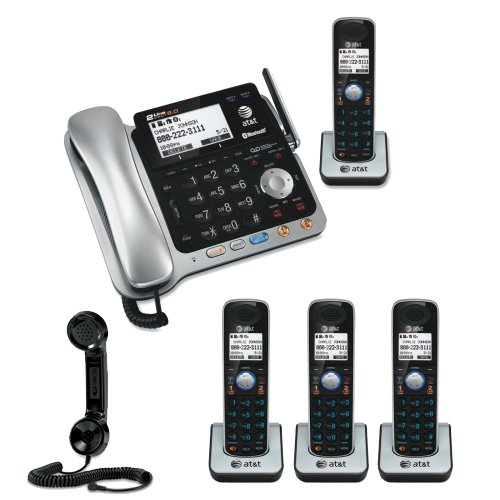 Yealink W56h Cordless Dect Ip Additional Handset also P 009W005026244001P further Iphone Retro Handset further Att Tl86109 Dect 6 0 2 Line Bluetooth Cordcordless Phone System Includes Four Expandable Handsets Bundle likewise Pc Headset To Cisco Phone Adapter Rj9 Rj10. on telephone handset with audio jack