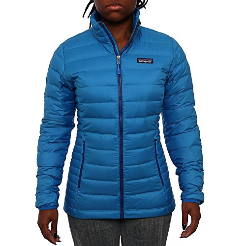 Patagonia Women Women`s Down Sweater Puffer Andes Blue Size XS