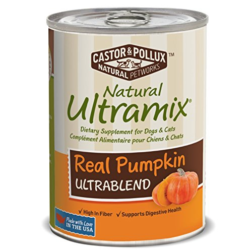 Natural Ultramix Dietary Supplement for Dogs and Cats, Real Pumpkin, 12.7 Ounce Cans (Case of 12) (Natural Ultramix Cat Food compare prices)