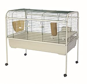 Rabbit Cage On Wheels