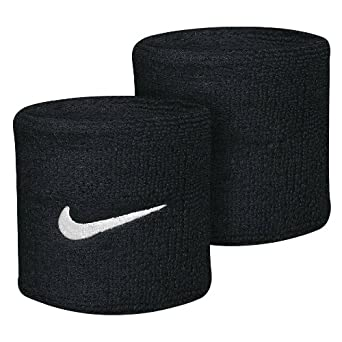 Nike Black Swoosh Wristband