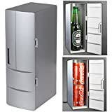 Allnice® Heat and cold Dual-use Portable Mini USB PC Refrigerator Fridge Cooler and Warmer Beverage Drink Cans Freezer Cool Gadget for Home - Plug and Play