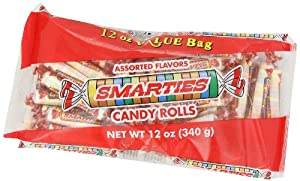Smarties Candy Rolls, 12 Ounce (Pack of 24)