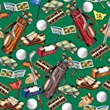 "Tee Off Gift Wrap Roll 24"" X 16"