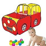 TOPFIRE Kids gran casa coche tienda de campa�a (piscina de bolas para interior y exterior/Baby Play, pelotas no incluido
