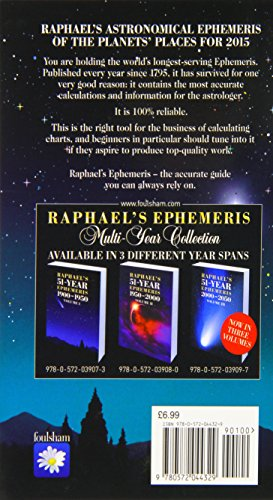 Raphael's Astronomical Ephemeris 2015 (Raphael's Astronomical Ephemeris of the Planet's Places)