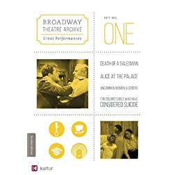 Broadway Theatre Archive: Great Performances: Set 1 - Death of a Salesman, For Colored Girls, Uncommon Women, Alice at the Palace