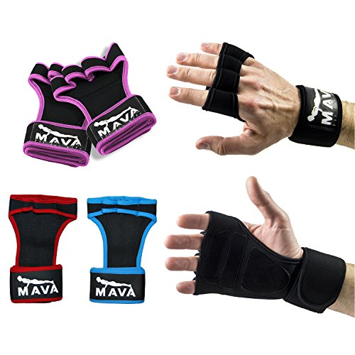 Gym Gloves Weight Lifting Leather Workout Wrist Support: Sports Gloves Wrist Support Gym Fitness Workout