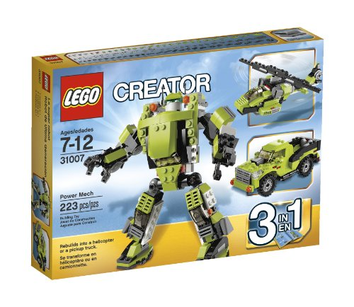 LEGO Creator Power Mech 31007 Amazon.com