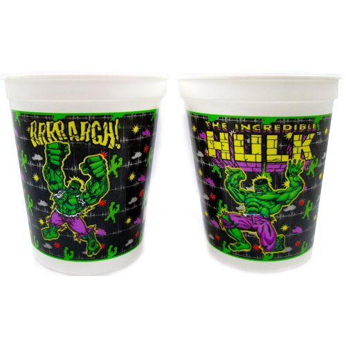 Incredible Hulk Reusable Keepsake Cups (2ct)